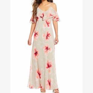 New Calvin Klein Beautiful Off the Shoulder Dress